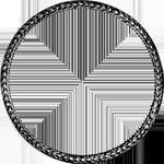 Umrandung Silber Münze Spezies Taler Konventions 1799