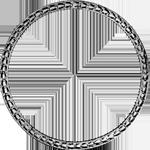 Umrandung Silber Münze Spezies Taler Konventions 1773