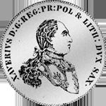 Münze Silber Spezies Taler Konventions 1765