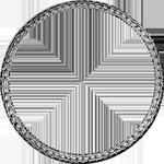 Umrandung Silber Münze Konventions Spezies Taler 1765