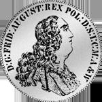 1765 Konvention Spezies Taler Silber Münze