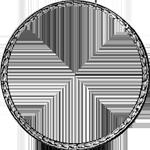 Umschrift Silber 1765 Spezies Taler 1/2 Gulden Stück