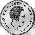 Reichs Taler 1/3 Silber Münze 1830