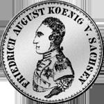 1/3 Reichs Taler Münze Silber 1818