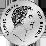 Kronen Taler Silber Münze 1837