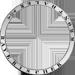 Umrandung Silber Münze Kronen Taler 1837