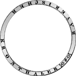 Umschrift Silber Münze Kronen Taler 1816