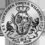 1753 Münze Silber Pfälzer Kronen Taler 1753