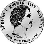 Taler Spezies Silber Konvent 1835 Münze