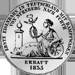 Taler Silber Rückseite Münze Spezies 1835