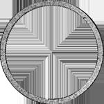 Konvent Spezies Taler Silber Münze Rückseite 1833