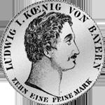 Silber Konvent Spezies Taler Münze 1832
