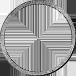 Umrandung Silber Taler Münze Spezies Konvent 1832