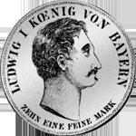 Spezies Taler Konvent Silber Münze 1830
