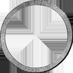 Umrandung Silber Münze Konvent Spezies Taler 1830