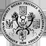 Münze Silber Konvent Taler Rückseite Spezies 1829