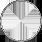 Silber Umrandung Münze Spezies Taler Konvent 1829