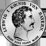 Konvent Speziestaler Silber Münze 1828