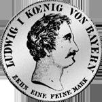Konvent Spezies Taler Silber Münze 1827