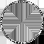 1828 Spezies Taler Konventions Silber Münze Umrandung