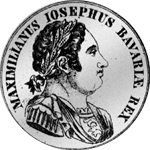 Konvent Spezies Taler Silber Münze 1818