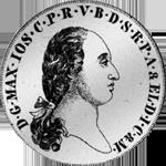 Spezies Taler Silber Konvent 1800 Münze