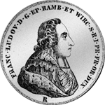 Konvent Spezies Taler 1784 Münze Silber
