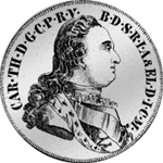 Konvent Silber Taler Spezies Münze 1783