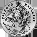 1783 Silber Münze Rückseite Spezies Taler konvent