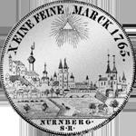 Konvent Spezies Taler Silber Münze 1765