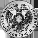 Spezies Taler Silber Konvent 1765 Rückseite Münze
