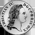 Konvent Spezies Taler Silber Münze 1760