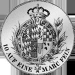 1760 Spezies Taler Konvent Silber Münze Rückseite