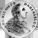 Silber Münze Konvent Taler Spezies 1760