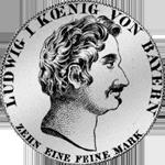 Konvent Spezies Taler Silber Münze 1834