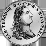 Gulden Stück Silber Münze 1765