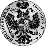 6 Batzen Rückseite Silber Münze 20 Kronen Stück 1766