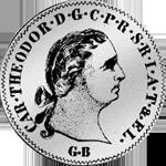 3 Batzen 12 bayrische Kronen 1765 Münze Silber