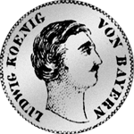 6 Kreuzer Land Münze Silber 1828