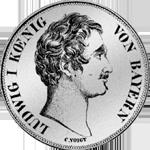 Vereins Taler Silber 2 Stück Münze 1845