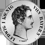 Vereins Taler 2 Stück Silber Münze 1843