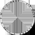1843 Münze Silber Stück Taler Vereins 2 Umschrift
