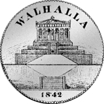 Vereins Taler 2 Stück 1842 Rückseite Silber Münze