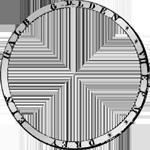 Umrandung 1842 Taler Stück Vereins Silber Münze