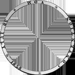 Vereins Taler Silber Umschrift Münze Stück 2 1839