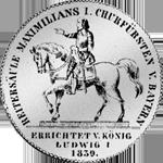 Stück Taler Rückseite 2 Münze Silber Vereins 1839