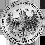 Silber Münze 2 Gulden Stück 1848