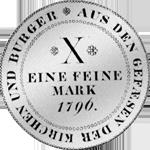 Konv Spezies Taler Silber Münze 1796