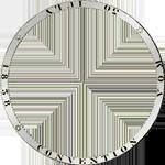 Umrandung Silber Taler Stück 2 1841 Münze