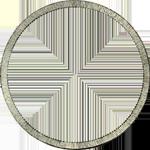 Umrandung Vereins Taler Stück 2 Silber Münze 1840